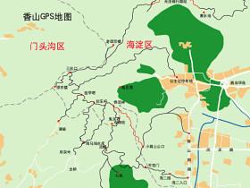 北京香山山地骑行线路