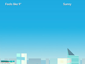Google Weather Frog with mask