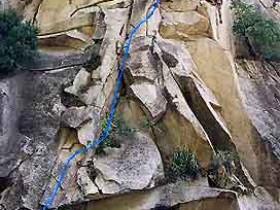 攀岩——云蒙峡